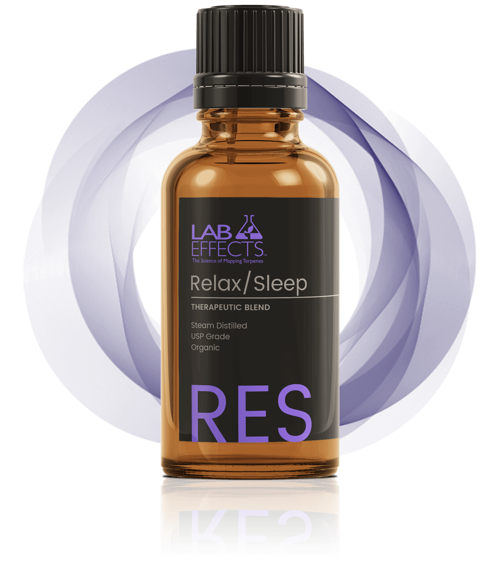 Relax Sleep Therapeutic Blend Bottle