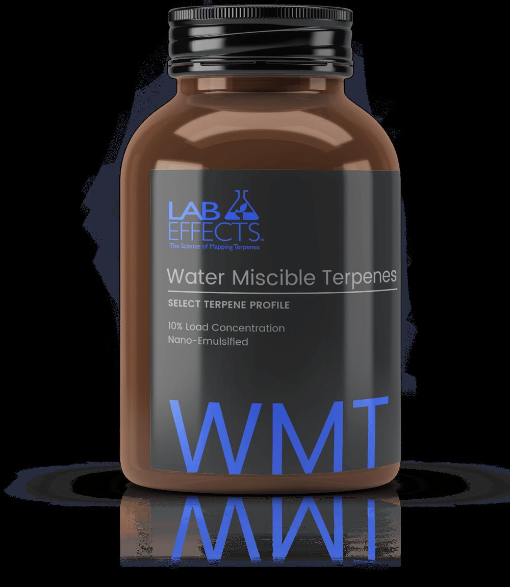 Water Terpenes Lab Effects Bottle