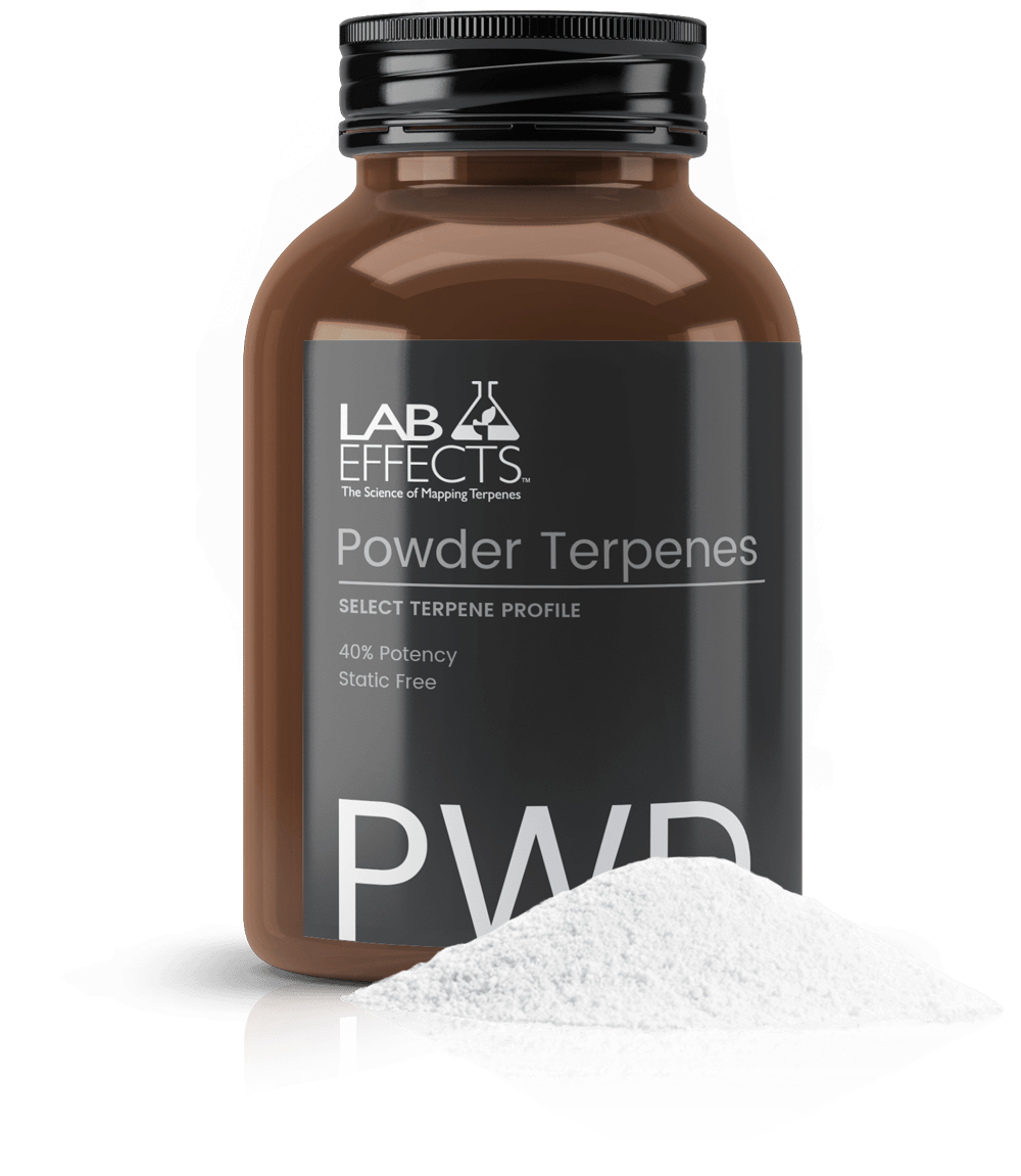 Powder Terpenes Bottle Lab Effects