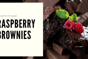 Terpene Infusion Recipe: Raspberry Brownies