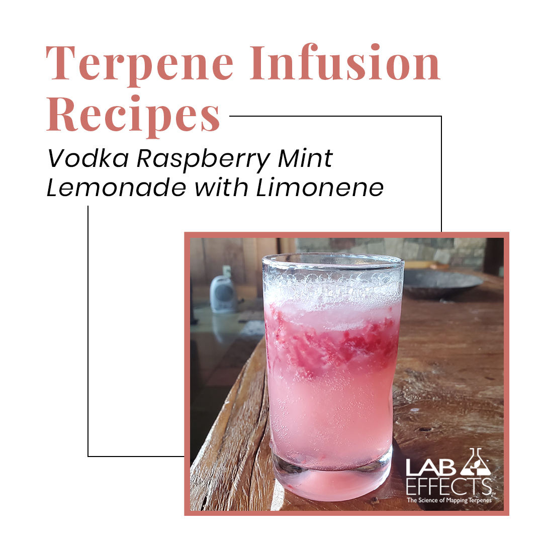 lab effects terpene infusion vodka raspberry recipe