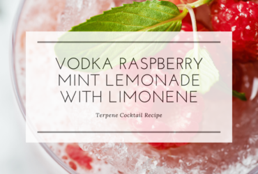 Terpene Recipe: Vodka Raspberry Mint Lemonade with Limonene
