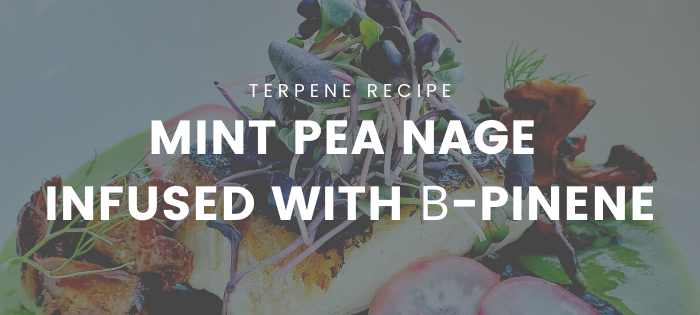 Terpene Recipe: Mint Pea Nage Infused with β-pinene