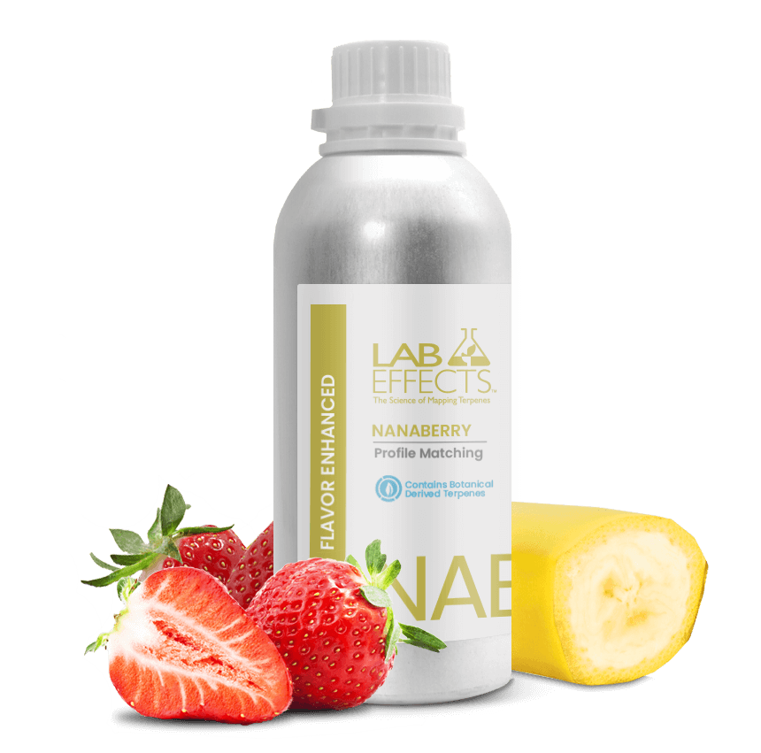 Nanaberry Flavor Enhanced Terpenes Lab Effects