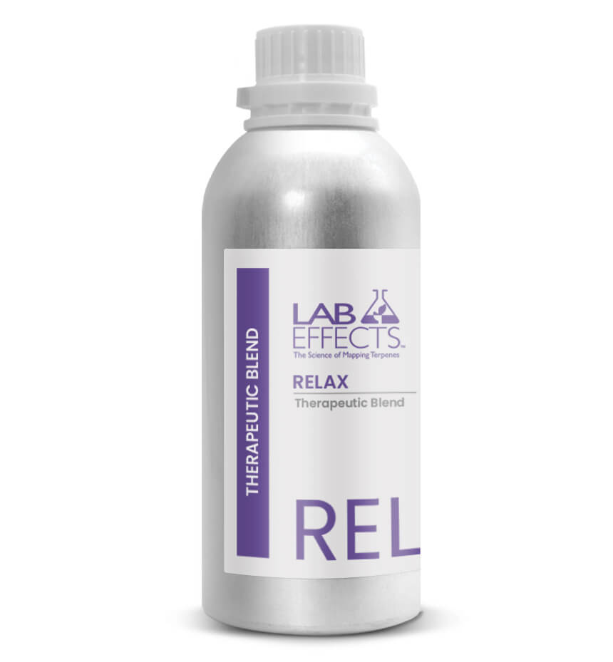 Therapeutic Terpene Blend Bottle Lab Effects